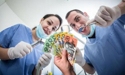 dentist money
