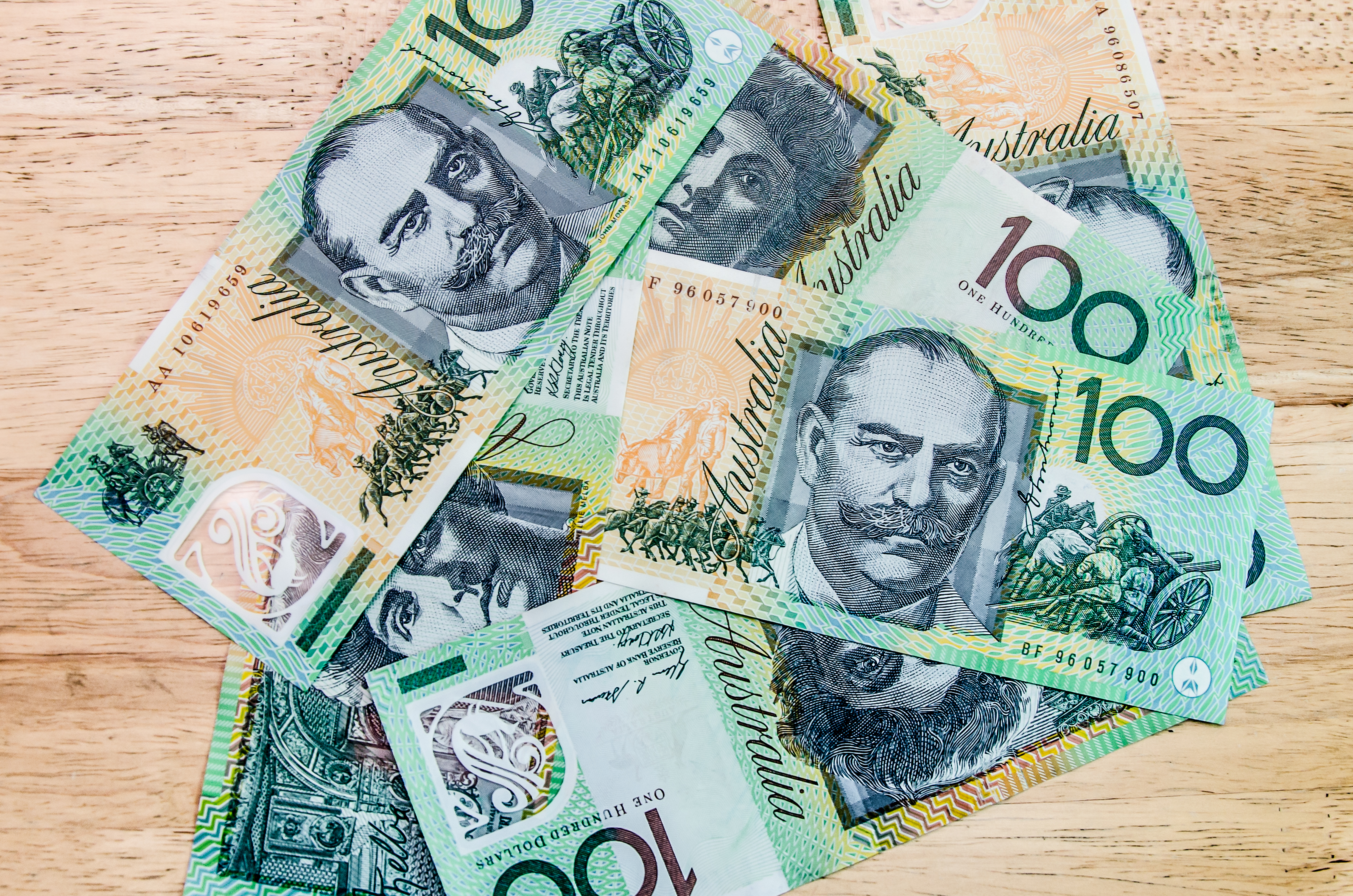 Cash is still Australia's Favourite way to pay